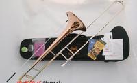 Bach TR-710 Bb tenor trombone tone down Bach trombone instrument phosphor bronze material copper-nickel alloy telescopic tube