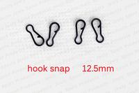 Free Shipping Black Double Fishing Hook Snap B Type Fishing Terminal Tackle Equipment