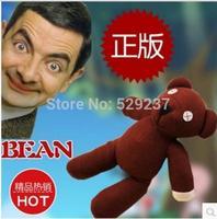 Free Shipping~ Wholesale 2 piece/lot 23cm Mr Bean's teddy bear plush dolls for kids/ children's birthday gift