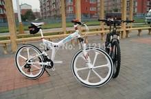 Bicycle 26 inch Mountain bike bicycle 24 speed folding one piece wheel mountain bike bicycle ride(China (Mainland))