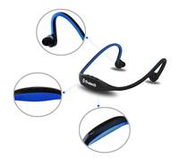 Sports Stereo Wireless Bluetooth 3.0 Headset Earphone Headphone for iPhone 5/6 Galaxy S4/S3 HTC LG Smartphone
