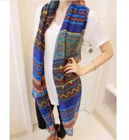 2014 New Big size Bohemia national trend scarf female rhombus geometry Fashion Scarf women 1pcs free shipping