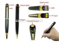 DHL EMS Free shipping 720P pen camera 1280X720 true HD pen camera with 50pcs/lot