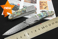 2014 NEW high-grade Damascus Folding Hunter knife Pocket Everyday Knives For Gift Collection