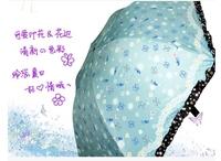 [Free shipping] [genuine] ultralight super paradise umbrella UV sun umbrellas rain or shine dual-use