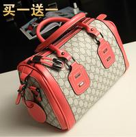 Pillow women's handbag fashion plaid one shoulder cross-body women's handbag large bag