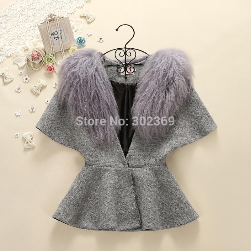 Женская одежда из шерсти v/1186 YY