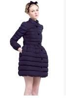 The new autumn and winter 2014 European leg of big bow Slim thin long paragraph tutu skirt ladies cotton padded jacket