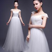 2014 winter Bride married Slim wedding dress vestido de noiva Romantic casamento salomon fashionable lace wedding dress