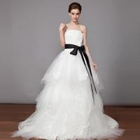 2014 white train high quality Fashion slim Winter wedding dress vestido de noiva romantic mermaid wedding dresses sexy salomon