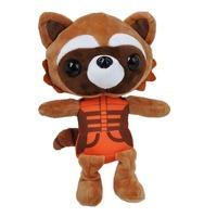 New Rocket Raccoon Guardians of the Galaxy Series Figures 25 Cm Plush Toys Rocket Raccoon  Free Shipping