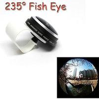 More Advance Super Fisheye lens 235 degree Fisheye lens for iPhone6 plus 5s 5c Samsung Galaxy S3 S4 S5 Note 2 3 4 phone lens