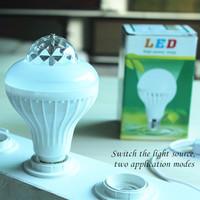 New style E27 RGB Effect Rotating Mini Round LED bulbs Crystal Magic Ball Stage Light Lamp for DJ Party Disco Bar KTV Lighting