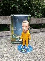 """Mezco Toyz Breaking Bad Jesse Pinkman Bobblehead PVC Figure Collectible Toy 6.5"""" 16.5CM HWMV053"""