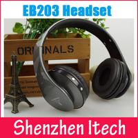 Bluetooth Headband Folding Headset Wireless Headphone Portable with Mic Stereo MircoSD TF Card Player Mp3 Music Base EB203