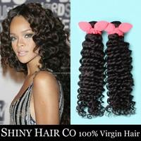 3 Bundles Brazilian Virgin Hair Deep Wave Natural Black 6A Unprocessed Human Hair Weave Brazilian Deep Wave Julia Virgin Hair