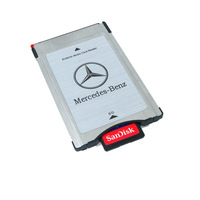 Wholesale NEW PCMCIA Multi Card Reader Adapter + SanDisk Ultra 16G SD for Mercedes-Benz Audio Free Shipping