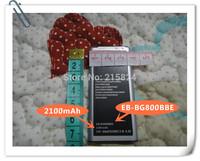 10 pcs/lot Hot Sale 3.8V EB-BG800BBE 2100mAh mobile phone battery for samsung galaxy S5 mini Battery