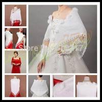 1pcs winter Bridal wedding dress bridal wedding jacket woman triangle shawl wool shawl multifunction wrap lady scarves scarf