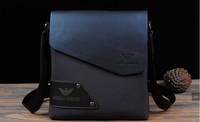 Free Shipping 2014 New Arrival fashion men leather man bag Messenger bag business bag / brand