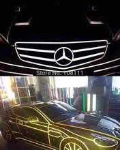 1Cmx46M DIY Reflective Sticker Automobile luminous strip car&motorcycle&bicycle Strct 3mil HQ