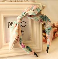 Free shipping Hot sale hairpin bowknot rabbit ears headband Korea with Korean hair clips hairband 76670