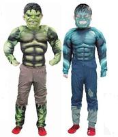 Green giant garment children big superhero play suits the Avengers Costume