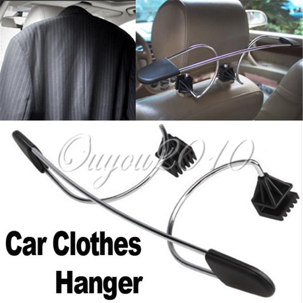 Hot Convenient Car Auto Seat Headrest Clothes Coat Suit Pattern Metal Driver Passenger Vehicle Hanger Free Shipping(China (Mainland))