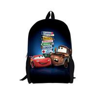 2014 factory direct Cars cartoon bag backpack schoolbag cute boy burst models