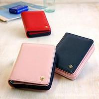 2015 Korean version of Ms Crown new wallet zipper 20 percent hit clutch bag  brand women coin purses wallet card