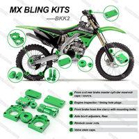 MX Bling Kit Kits For KAWASAKI KXF 250 2008 2009 2010 GREEN