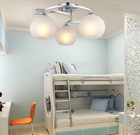 Best selling free shipping modern minimalist glass moon aluminum ceiling living room bedroom children's den LED lighting lamps