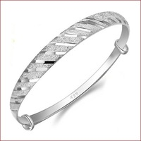 Christmas gift,925 silver bracelet meteor shower,female models silver jewelry,retro simple bracelet,free shipping,factory direct