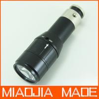 New arrival CREE Q5 LED Car Cigarette Lighter Rechargable Flashlight Torch