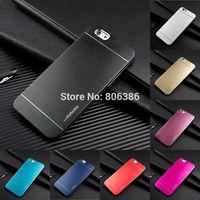 New Metal Aluminum Brushed Hard Back Case Skin Luxury Case For Apple iPhone 6 4.7''