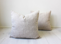 Free Shipping,Size 45X45CM,100pcs/lot,Natural Cotton Linen pillow cover, Eco friendly home,Modern Cottage Decorative Pillows