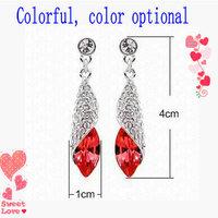 Hot-selling ! crystal stud earring light - drop earring Women