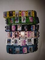best Frozen girl 12pcs Wood Bracelets Queen Elsa Anna Princess