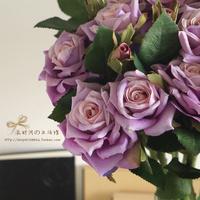 High quality artificial flowers rose decoration flower silk flower simulation flower free shipping to USA
