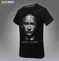 Free shipping Cotton T-shirt as man, vladimir putin, the great god t shirt with short sizes S-XXXL