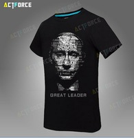 Free shipping Cotton T-shirt as man, vladimir putin, the great god t shirt with short sizes S-XXXL