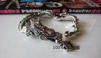 Thailand origin original men leading bracelets super domineering 925 sterling silver personality punk bracelet