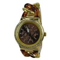relogios masculinos 2014 Hot luxury brand Geneva gold watch gold watch women rhinestone quartz Dress Watch christmas gift