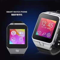 "2014 Top selling Smart bluetooth watch intelligent wrist watch GV09 1.55"" HD LCD touch screen support GSM/GPRS Remote photos"