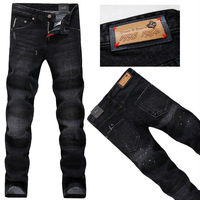 Free Shipping!The height of quality!italy brand jeans DSQ mens fashion jeans D2 pants men jeans ripped plus size 28-38 N0131