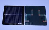 10pcs 5.5V 0.33W 60mA Solar Panel 60x60mm +SMD IN5819