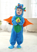 Baby Infant Dragon / Dinosaur Romper Kids Onesie Suit Animal Cosplay Shapes Costume Child Spring Autumn Winter Clothing 0-3T