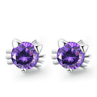 Trendy Luxury 925sterling Silver Earrings