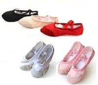 Pls buy as CM data 2pairs/lot Size23~44 15~26cm children soft sole girls ballet shoes Women Ballet Dance Shoes kids adult ladies