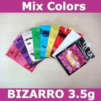 Free shipping,BIZARRO 3.5g herbal incense bags,bizarro incense zip lock bags